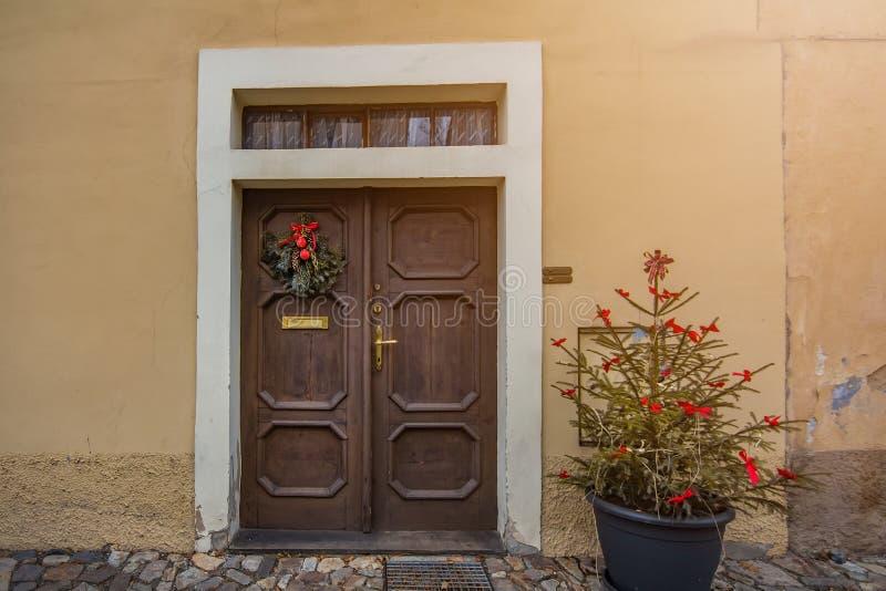 Maison antique à Prague images libres de droits