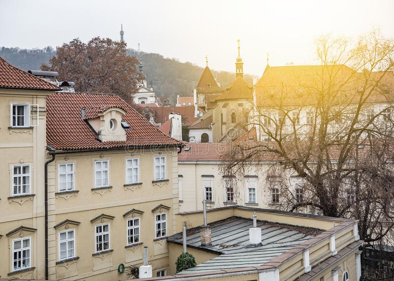Maison antique à Prague photos libres de droits