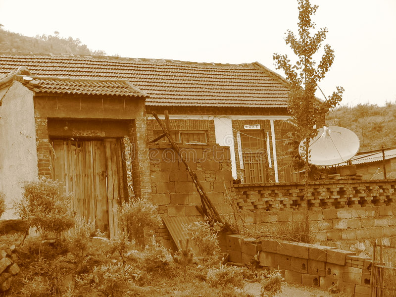 Maison antique photo stock