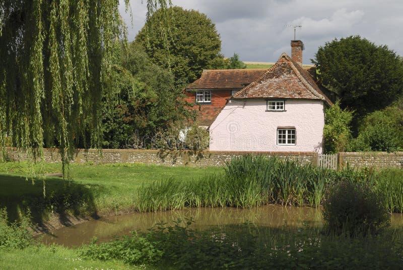 Maison au doyen est. Sussex.UK occidental photos libres de droits