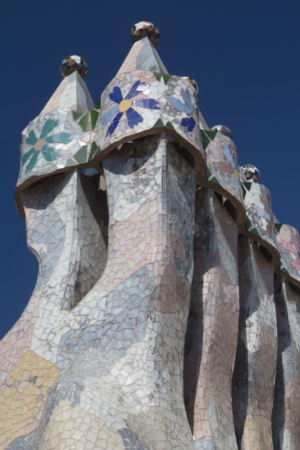 Maison Batllo à Barcelone photo stock