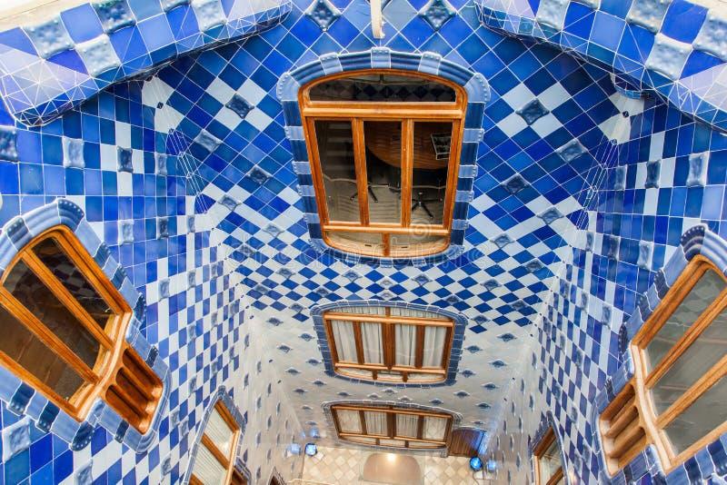 Maison Batlo Barcelone Espagne photo libre de droits