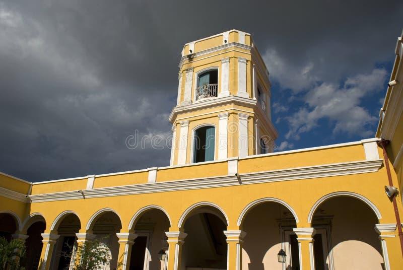 Maison Cantero, Trinidad, Cuba images libres de droits