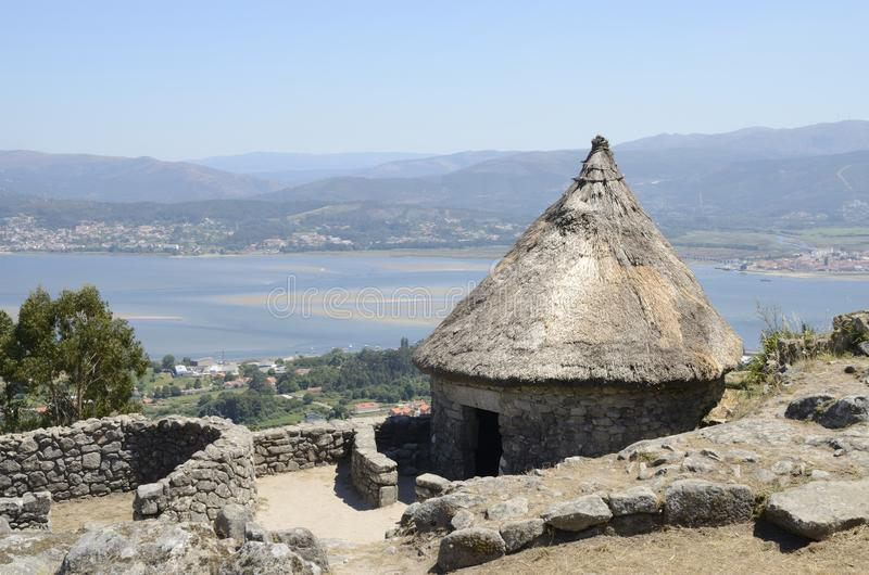 Download Maison Celtique Et Minho Estaury Photo stock - Image du fort, santa: 77156720