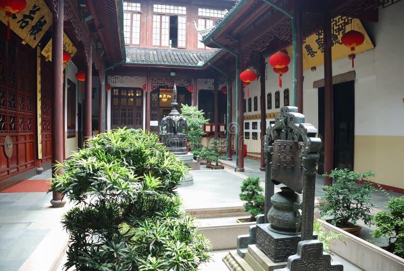 maison chinoise antique image libre de droits