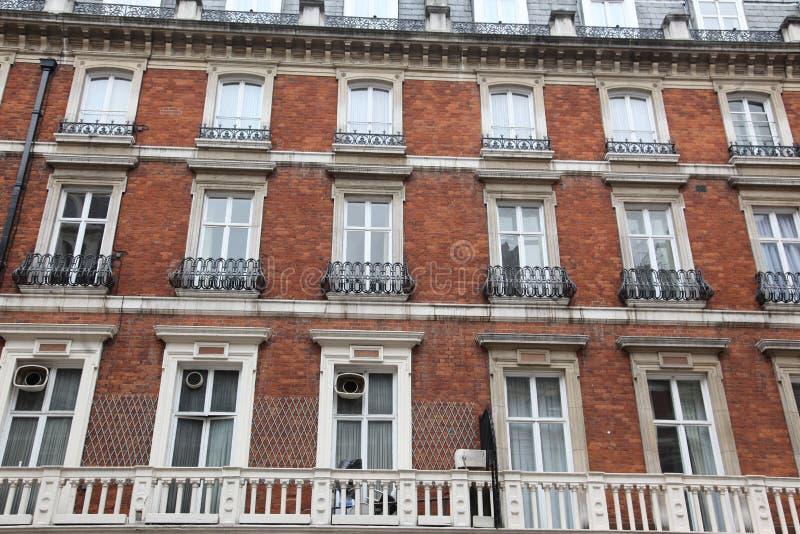 Maison classique de victorian à Londres, Baker Street, R-U photographie stock libre de droits