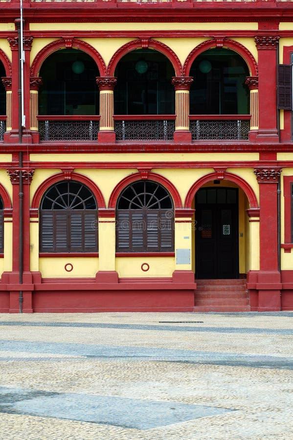 Maison coloniale, Macao photos libres de droits