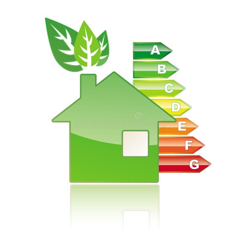 download maison dnergie de classe illustration de vecteur image du botier 57912740 - Classe D Energie D Une Maison