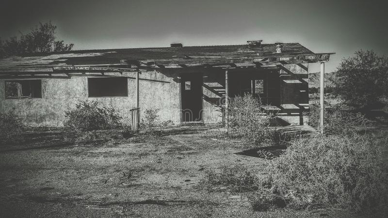 Maison d'abandon photos stock