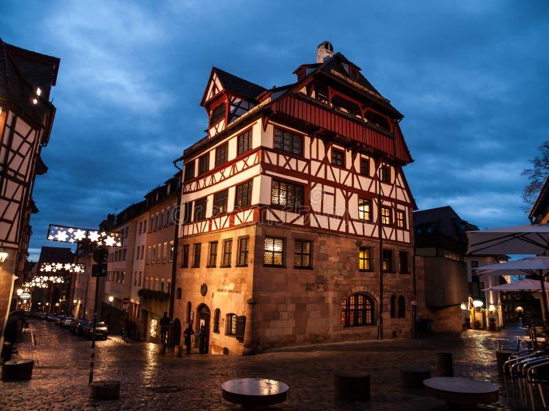 Maison d'Albrech Durer image stock