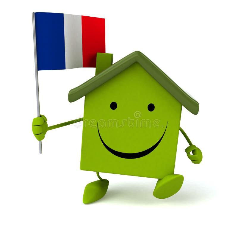 Download Maison d'amusement illustration stock. Illustration du patrimoine - 56490934