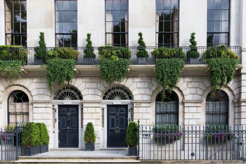 Maison d'Apartament à Londres images libres de droits