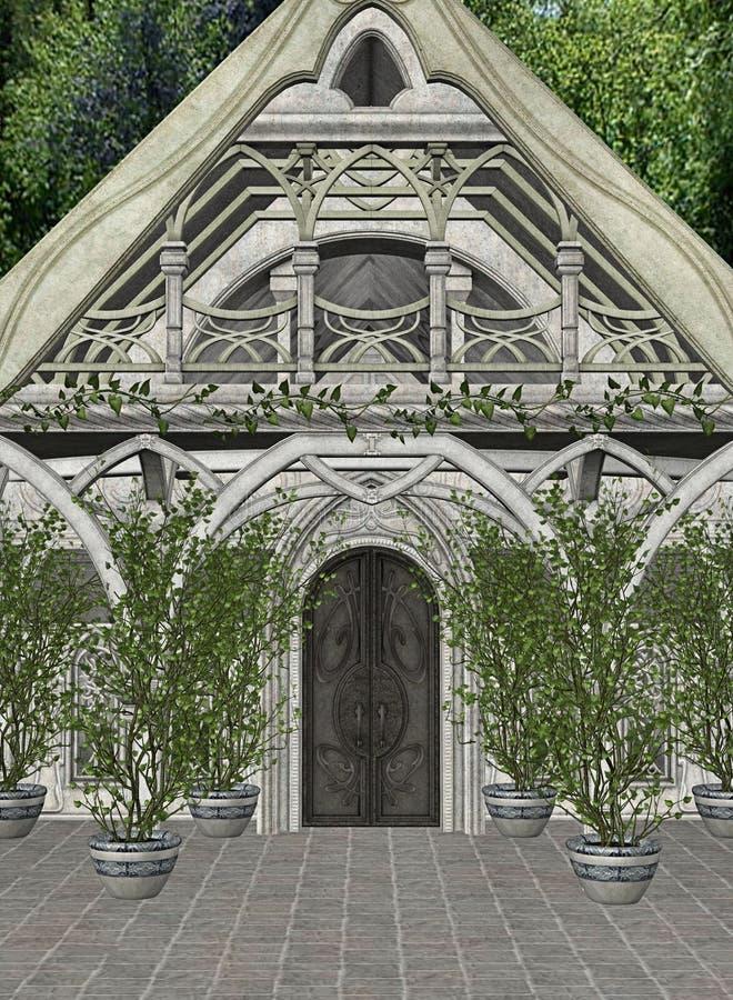 Maison d'Elven illustration libre de droits