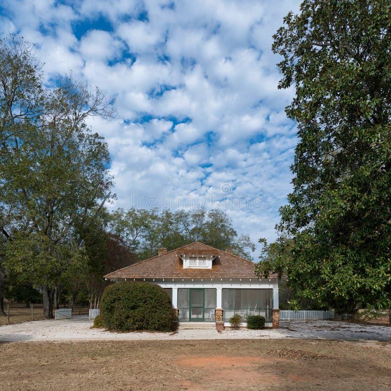 Maison d'enfance du ` s de Jimmy Carter image stock