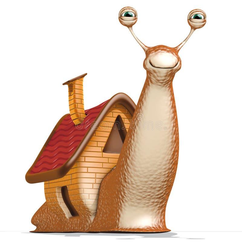 Maison d'escargot illustration de vecteur