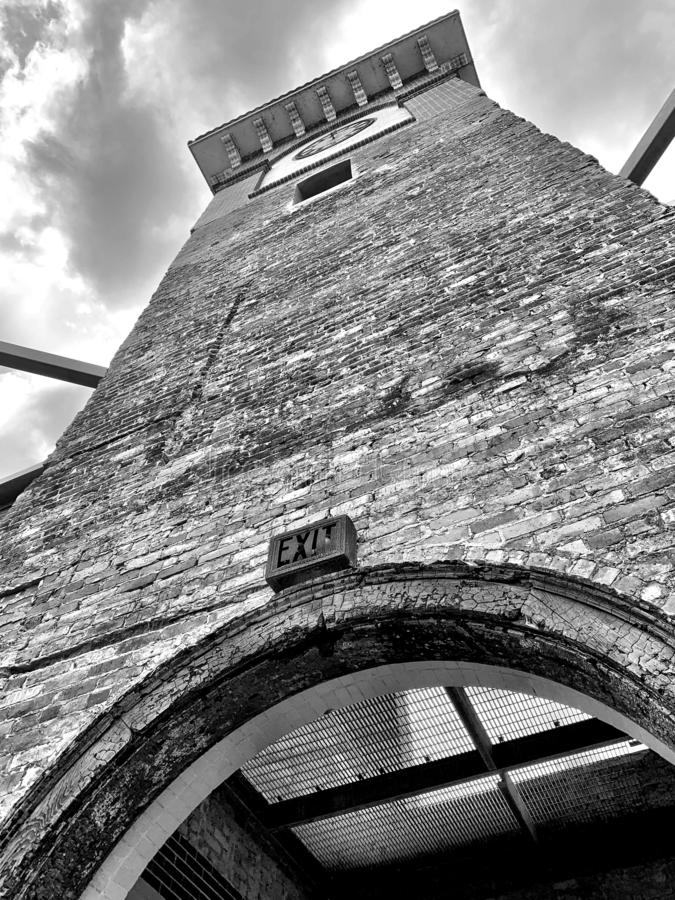 Maison d'hôtes B&W photographie stock