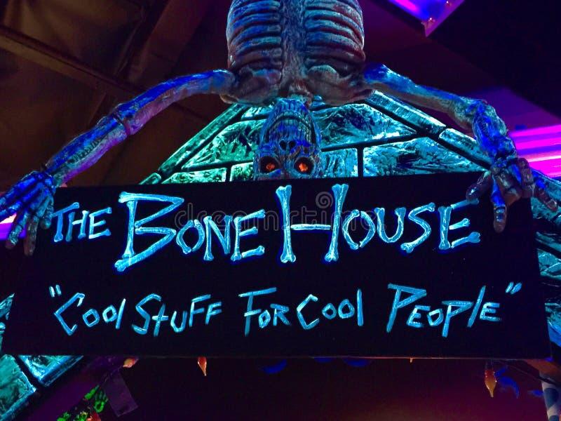 Maison d'os image libre de droits