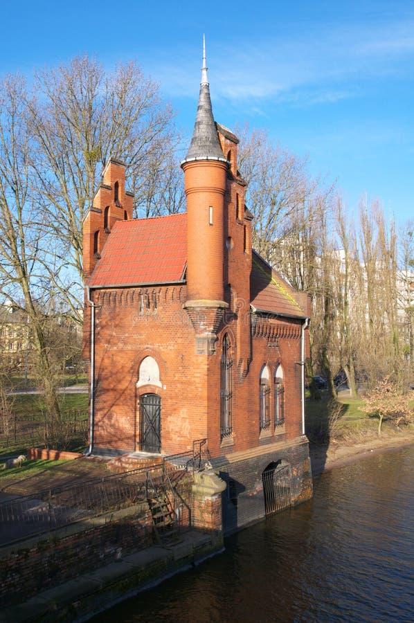 Maison de baron Munchausen image stock