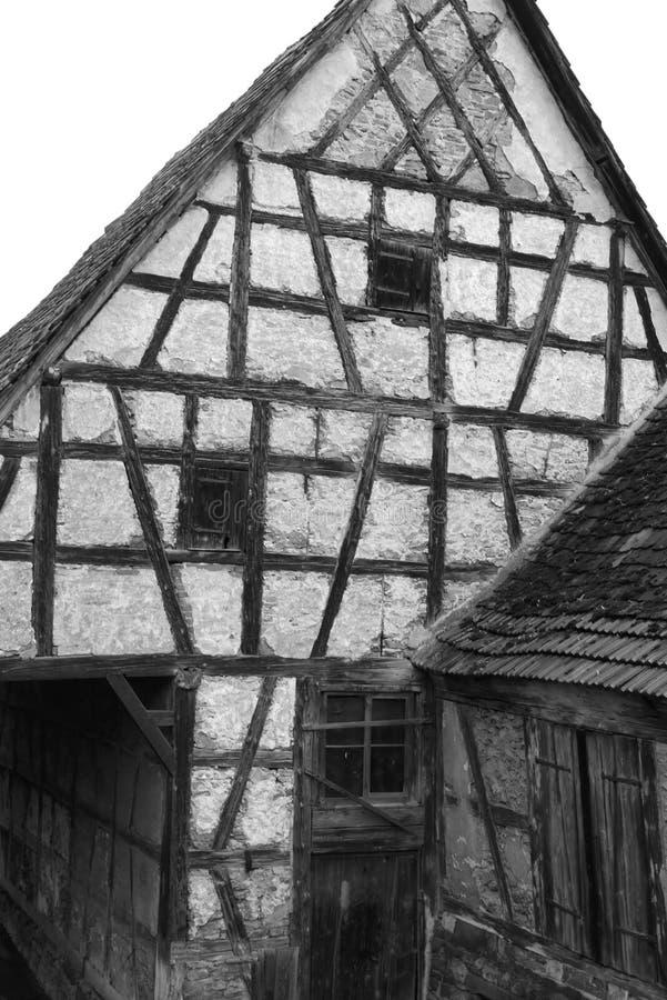 Maison de cadre - X - Waiblingen - l'Allemagne images stock