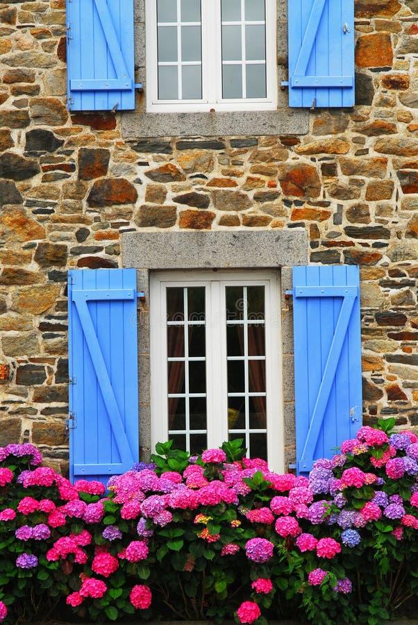 Maison de campagne dans Brittany photos libres de droits
