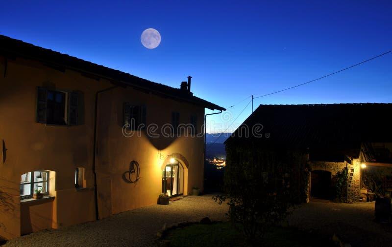 Maison de campagne dans Piémont image stock