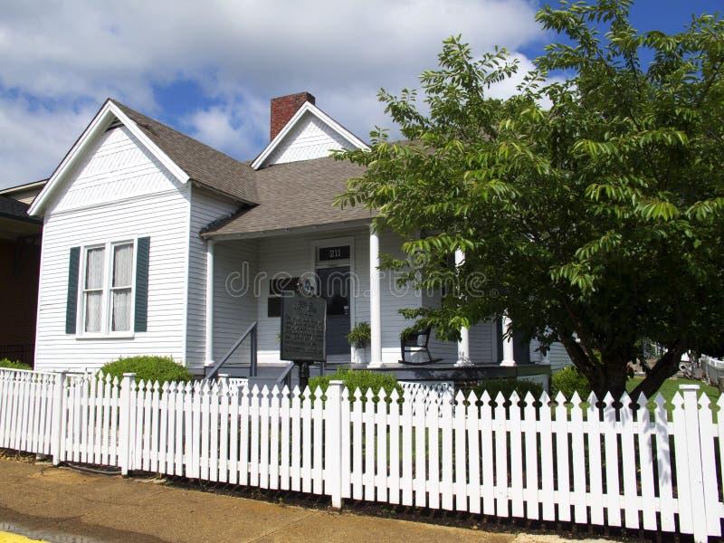 Maison de Casey Jones à Jackson Tennessee images libres de droits