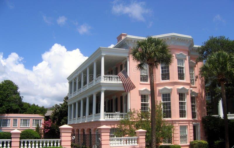 Maison de Charleston image libre de droits