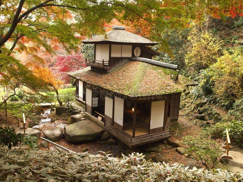 Maison de Choshukaku de Sankeien photo libre de droits