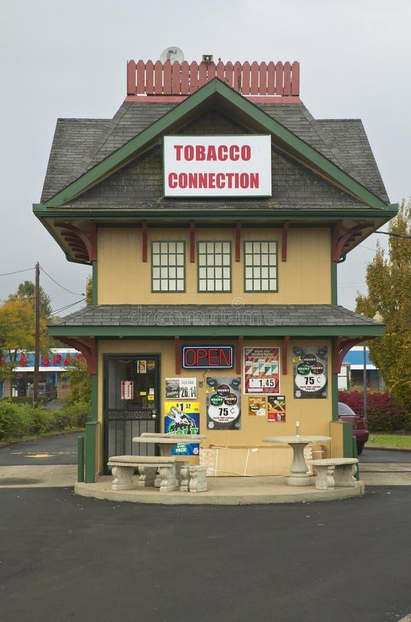 Maison de cigarette de connexion de tabac à Lexington Kentucky photographie stock