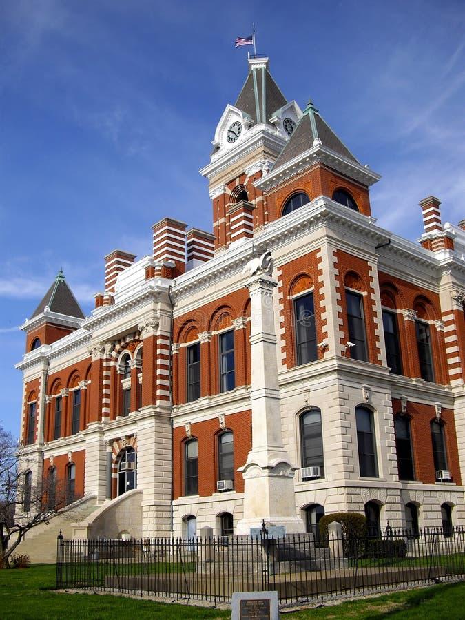 Maison de cour de Priceton photographie stock