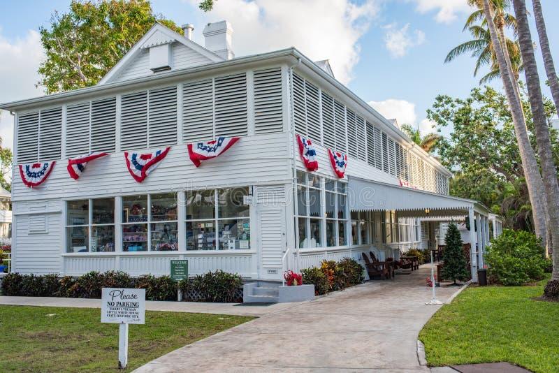 Maison de ferme de Harry S Truman Little White House images stock