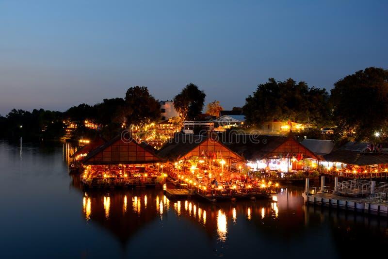 Maison de flottement en Thaïlande, images stock