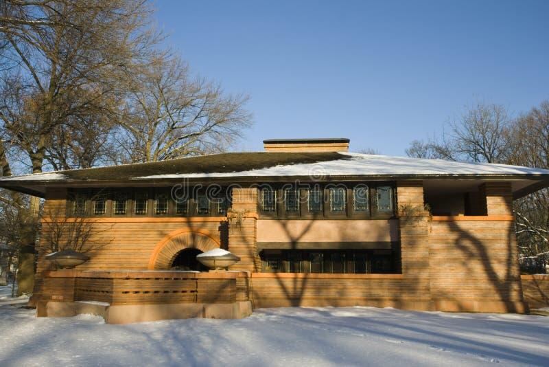 Maison de Frank Lloyd photo libre de droits