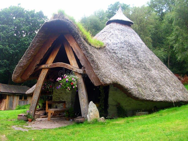 Maison de Gnome image libre de droits