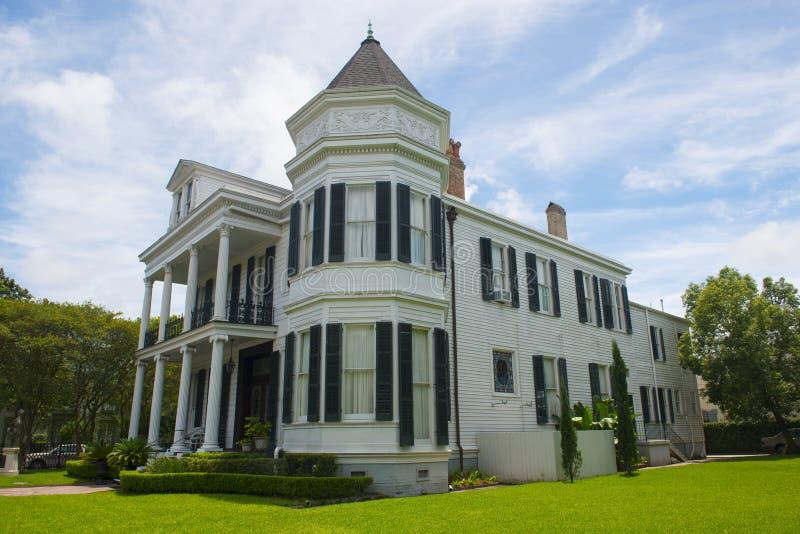 Maison de guilde d'opéra, secteur de jardin, la Nouvelle-Orléans image libre de droits