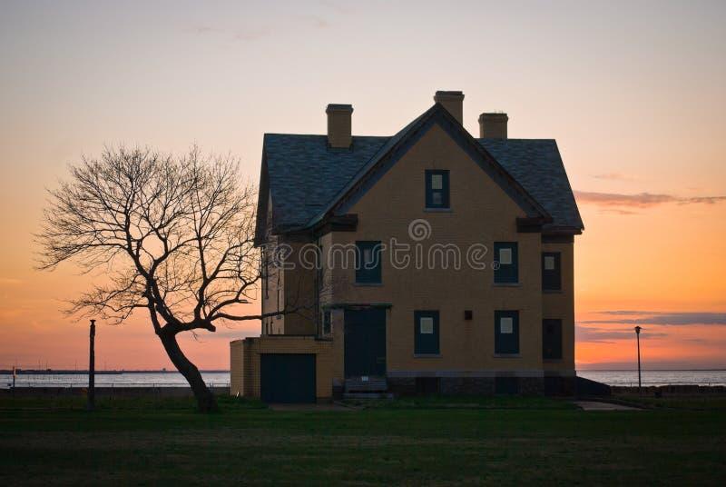 Maison de Hancock de fort images stock