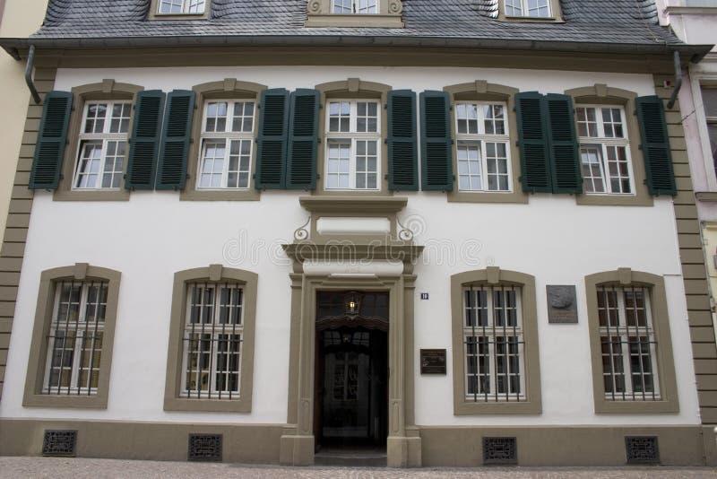 Maison de Karl Marx dans le Trier image stock