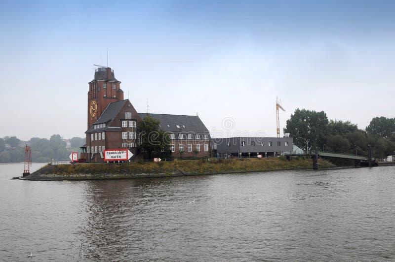 Maison De Lotsen à Hambourg Image éditorial