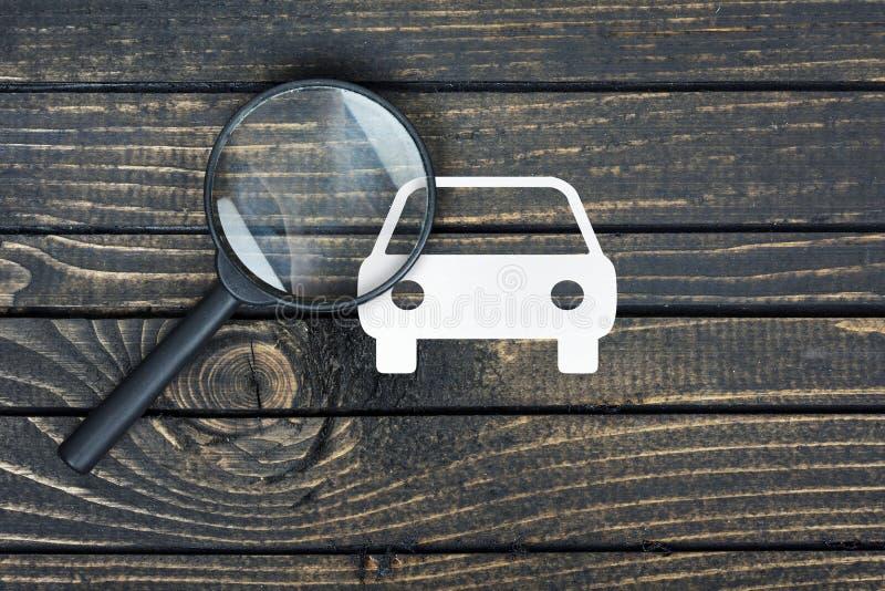 Download Maison De Loupe Et De Papier Sur La Table Image stock - Image du investissement, analysez: 76087179