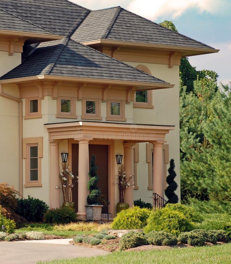 Maison de luxe 9 de aménagement images libres de droits