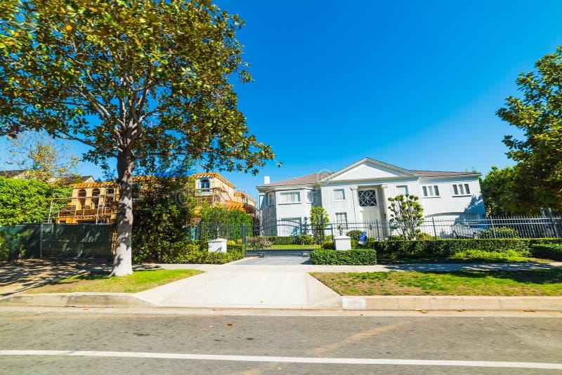 Maison de luxe en Californie du sud photos stock
