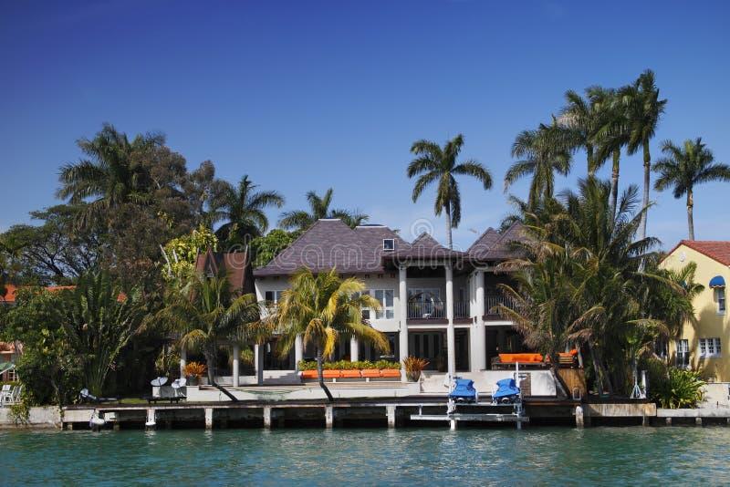 Maison de Miami images stock