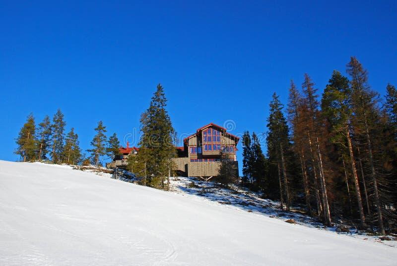 Maison de montagne image libre de droits