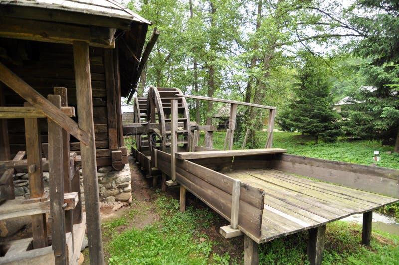 Maison de moulin photos stock