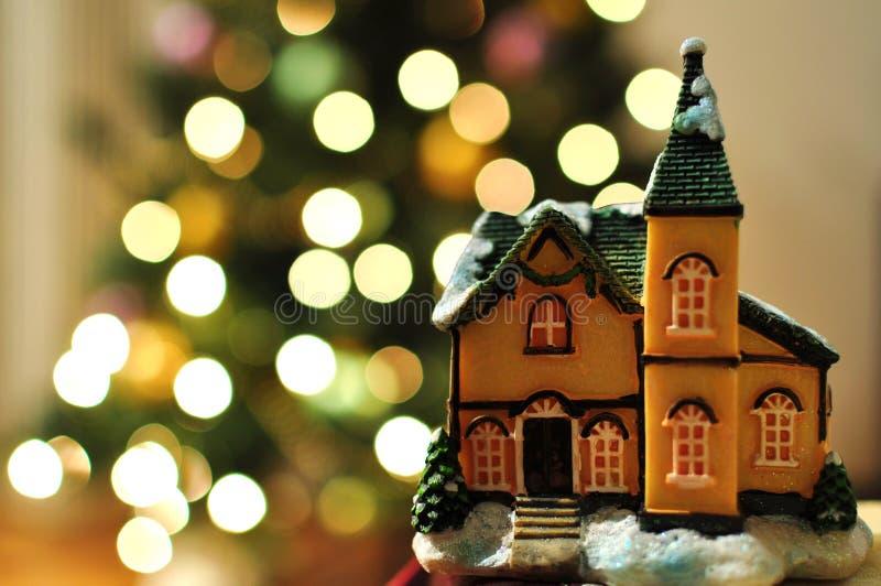 Maison de Noël image stock