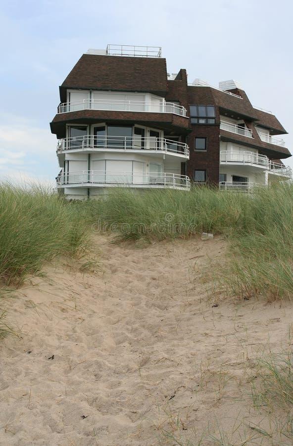 Maison de plage images stock