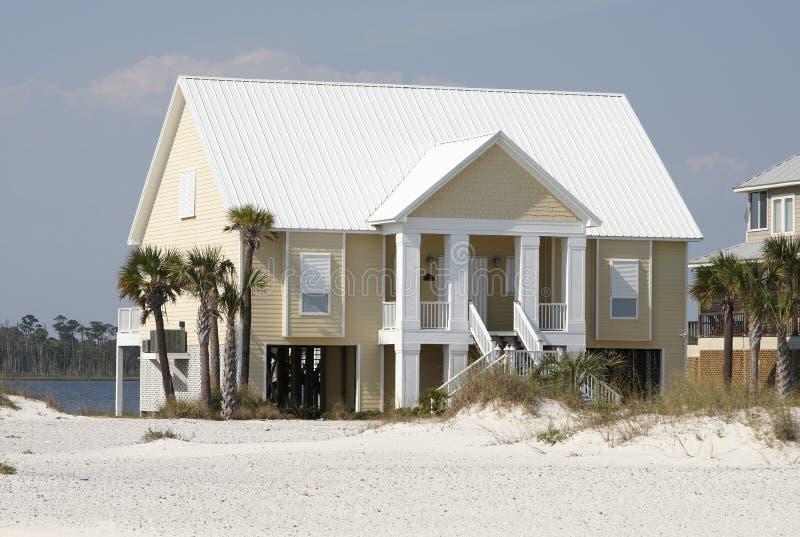 Maison de plage photo libre de droits