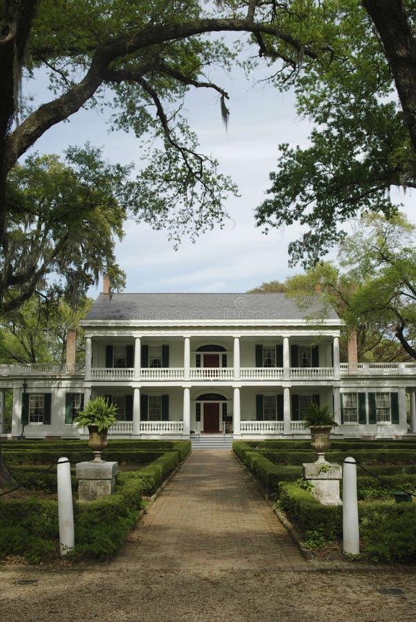 Maison de plantation de Rosedown photographie stock libre de droits