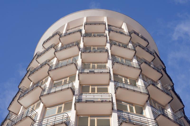 Maison de rapport circulaire photo stock