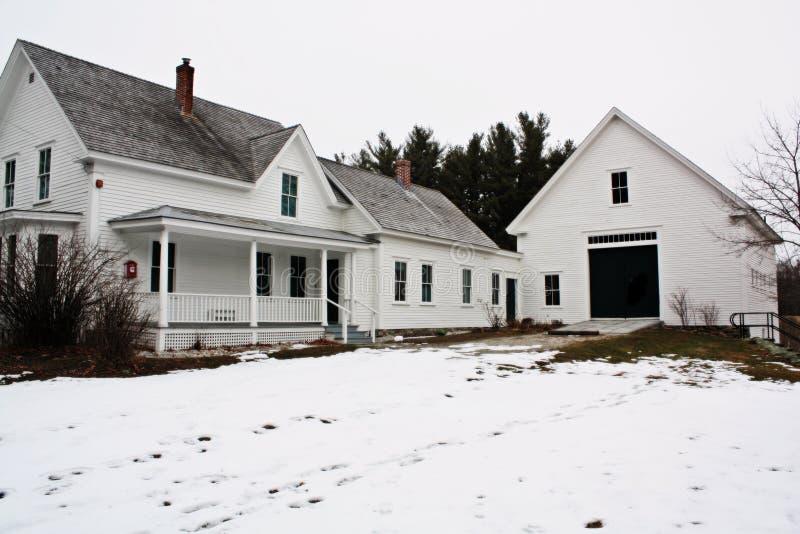 Maison de Robert Frost photos libres de droits